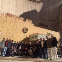 NVE students Field Trip to Dukan Dam